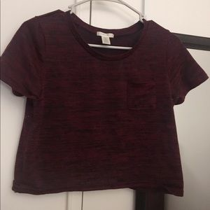 Tops - Cropped Shirt